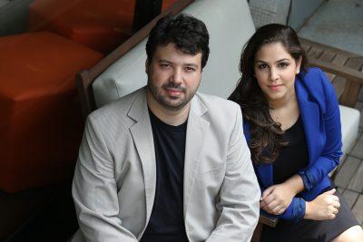 Marcelo Vitorino e Natália Mateus, fundadores da Presença Online