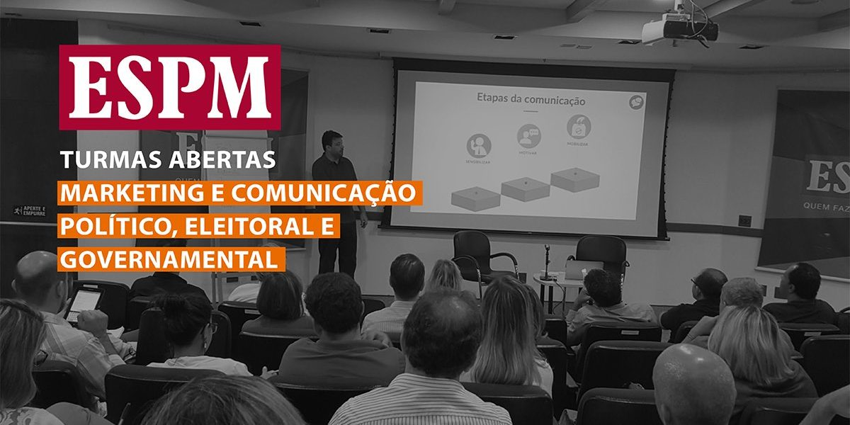 chamadas cursos marketing político espm marcelo vitorino