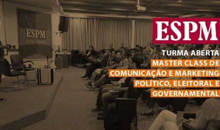 Primeiro programa Master Class de comunicação e marketing político do Brasil