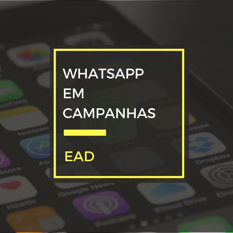 WhatsApp para campanhas eleitorais