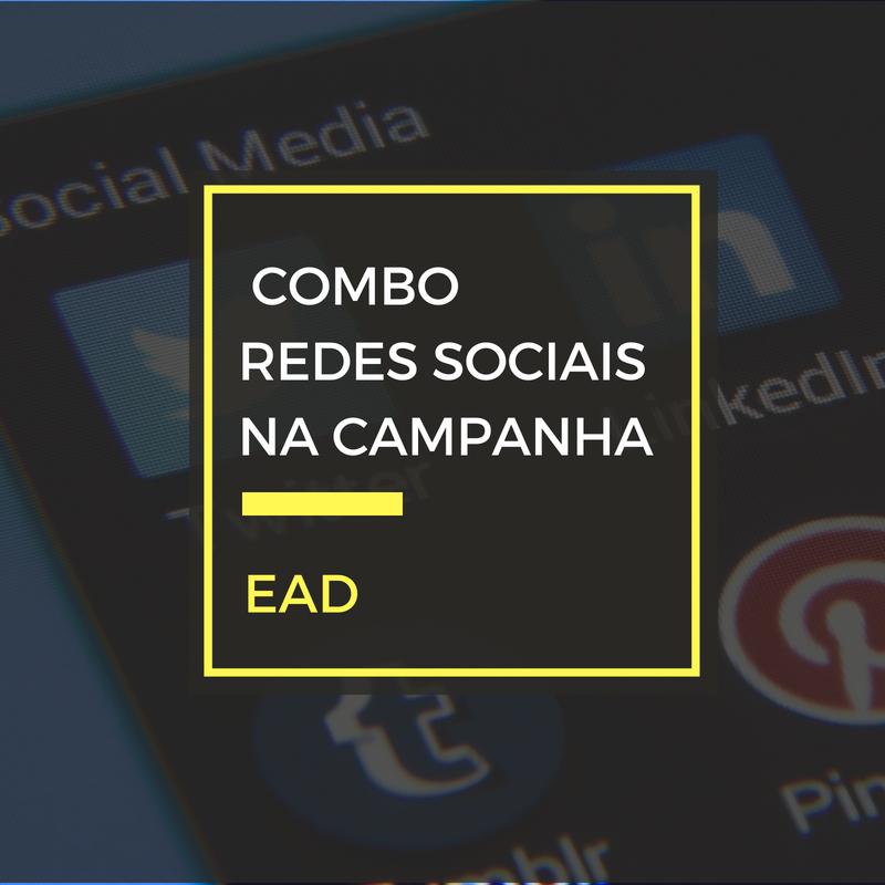 Combo: Redes Sociais para Campanha Eleitoral