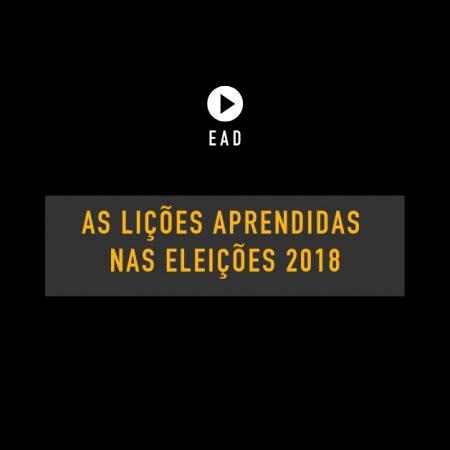 Palestra: As lições aprendidas nas eleições 2018