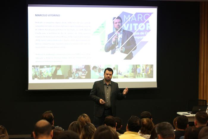 Professor Marcelo Vitorino responsável pelo conteúdo de mobilização do MasterClass Eleições 2020
