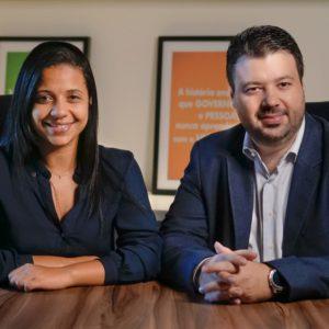 Marcelo Vitorino e Fernanda Camargos
