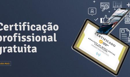 Presença Online oferece certificação profissional gratuita em 2020