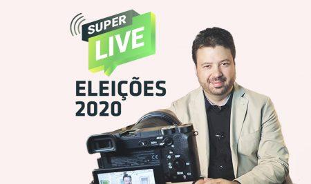 Participe da Superlive Eleições 2020 com o prof. Marcelo Vitorino
